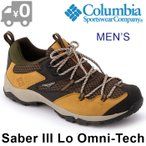 ショッピングトレッキングシューズ コロンビア セイバー3ロウオムニテック トレッキングシューズ メンズ アウトドア ローカット 男性 防水 軽量 茶 Columbia Saber 3 Lo Omni-Tech 送料無料