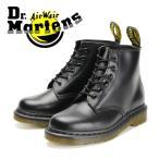 正規品 ドクターマーチン 6ホール ブーツ ブラック レースアップブーツ レザー メンズ レディース ユニセックス ミッドカット Dr.Martens 101 6 EYE