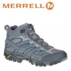 ショッピングトレッキングシューズ メレル MERRELL モアブ 2 ミッド ゴアテックス MOAB 2 MID GORE-TEX メンズ トレッキングシューズ ハイカット グレー キャッスルロック CASTLEROCK M06067