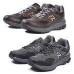 ニューバランス MW1501 ワイズ 2E 4E G スニーカー メンズ 男性 シューズ 靴 ローカット ダークブラウン ダークグレー 幅広 ワイド New Balance
