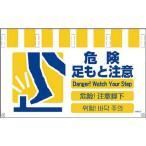 グリーンクロス 4ヶ国語入りタンカン標識ワイド 危険足もと注意/NTW4L8