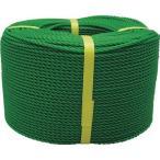ユタカ ロープ PEロープ巻物 / PE103_8200 緑 / 線径:6mm×長さ:200m