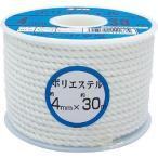 ユタカ ロープ ポリエステルロープボビン巻 / RS2_8200 ボビン巻 / 4mm×30m