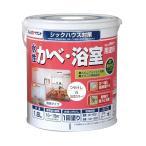 アトムハウスペイント 水性つや消しかべ・浴室用塗料(無臭かべ) 白/1.6L