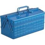 TRUSCO 2段工具箱 ブルー / ST350B_4600 350x160x215mm