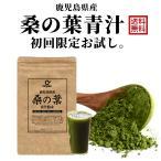 初回お試し 鹿児島県産 桑の葉青汁 桑茶粉末 120g(約40日分)国産 有機 桑の葉パウダー 無添加・無着色 オーガニック