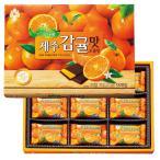 韓国 済州島 みかん風味チョコレート 4箱セット 【世界のスイーツ同梱可能商品】 (rh)