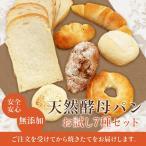 (送料無料)パン 無添加 天然酵母パン お試しセット (smp)