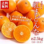 みかん 美味しいみかん 送料無料 フルーツ 愛媛県産 紅まどんな 約2.5kg 9〜13玉 柑橘 タンゴール 新品種 マドンナ(gn)