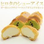 ギフト アイスクリーム ヒロタのシューアイスOCSオリジナルセット(バニラ、京抹茶、チョコレート、ストロベリー)4種×3個 計12個 スイーツ