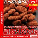 訳あり ピーカンナッツチョコ ココア 500g(わけありグルメ)(5400円以上まとめ買いで送料無料対象商品)(lf)