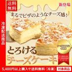 送料無料 ベイクドチーズケーキ とろけるチーズケーキ5号サイズ ギフト プレゼント(5400円以上まとめ買いで送料無料対象商品)(lf)