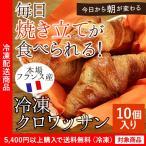 フランス産高級冷凍パン クロワッサン10個入り(5400円以上まとめ買いで送料無料対象商品)(lf)