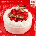 クリスマスケーキ 2019 送料無料 純白のいちご ショートケーキ 5号 イチゴ お取り寄せ ギフト プレゼント 予約