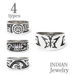 INDIAN JEWELRY ホピ族 シルバー リング  HOPI RING IJ-022