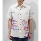 ショッピング半袖 SUN SURF/サンサーフ ワークシャツ SUGAR CANE TRAIN WORK SHIRT SS37587