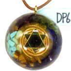 オルゴナイト プラス ドームペンダント DP6