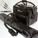 ダイシン ビッグトラスト ヘラバッグ & 3層ロッドケースセット ブラウン 浮き特典(無心・極 羽根2枚カッツケパイプトップ3本セット)付き (50265-br-10251set)