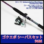 Gokuevolution Montblanc PureVersion 96M & スポーツライン HS V-MAX3012PE PEライン1.5号130m付(90283-hd-966177s)(pickup)
