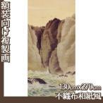 複製画130cm×270cm(額無し) 下村観山 全2種 不織布和紙風