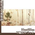 複製画90cm×180cm(額無し) 菱田春草 全4種 不織布フラット100g