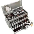 KTC 工具セット/53点組 9.5sq デジラチェセット12-60NM(シルバー)SK35310XS1