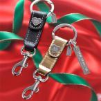 クリスマス プレゼント キーホルダー キーリング COACHトリガー スナップ キーホルダー プレート付  名入れ プレゼント