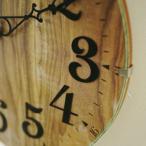 電波時計 おしゃれな掛け時計 木製の北欧テイストな壁掛け時計