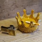 コロナ おしゃれな王冠形の陶器製トレイ 灰皿 アクセサリートレイ