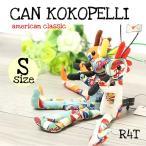 ココペリ人形 ココペリ CAN  ストラップ  キーホルダー R4T社製  正規品 限定生産 アメリカン雑貨 お守り
