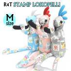 ココペリ人形 ココペリ ロコペリ R4T スタンプ 3カラー Mサイズ(34cm)切手 イラスト