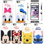 Disney Cutie Double Bumper Part2 ケース iPhone 6s/6s Plus/6/6Plus/5/5s/SE Galaxy S5
