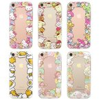 Hello Kitty Friends Frame Clear Jelly ケース iPhone 7/7Plus/6s/6s Plus/6/6Plus Galaxy S7edge