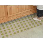 ショッピングキッチン キッチンマット 綿 150 北欧 ロング 水玉 ドット 50×150 ナチュラル モダン Polka dot 洗える シンプル