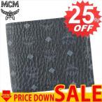 エムシーエム 財布 二つ折り財布 MCM MXS6AVI66 SML WALLET 4 CREDITS COIN POCKET USIM SLOT BK001 BLACK COATED CANVAS (PVC) 100%【型式】1223096066015