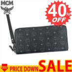 ショッピングLRG エムシーエム 財布 長財布 MCM CLAUS MXL6AVI92 2 FOLD LRG 14 CREDITS BK001 BLACK COATED CANVAS (PVC) 100%【型式】1223096092015