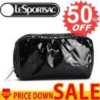 レスポ ポーチ LeSportsac レスポートサック ポーチ 6511 9908 ブラックパテント  【型式】 1307026511015