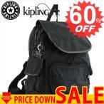 ◇◇ キプリング バッグ リュック・バックパック KIPLING K00085 CITY PACK S H53 DAZZ BLACK 999【型式】1371900085015