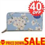 ショッピングキャスキッドソン キャスキッドソン 財布 長財布 CATH KIDSTON Continental Zip Wallet 752121 Soft Blue Wellesley Blossom