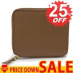 ショッピングGARCONS コムデギャルソン 財布 二つ折り財布 COMME DES GARCONS COLOUR INSIDE sa2100ic br-or BROWN