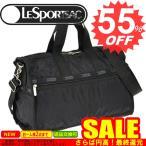 ◇→ レスポートサック ボストンバッグ 新作  LESPORTSAC  Midium Weekender 7184 5922/5982 Black Solid  新柄満載