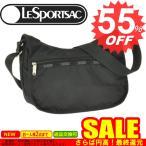 ◇→ レスポートサック 新柄 ショルダーバッグ LESPORTSAC Classic Hobo 7520 5922/5982 Black Solid