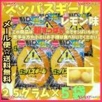 業務用菓子問屋GGメイジチューイング 25グラム  スッパスギール レモン味 ×5袋 +税 【ma5】【メール便送料無料】