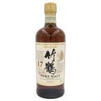 ウイスキー 竹鶴 17年 ピュアモルト 700ml 43度 ニッカ  ウイスキー ボトルのみ 国産ウイスキー whisky