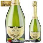6本選んで送料無料 スパークリング ワイン イスラデルソル ブリュット 750ml 帝国酒販