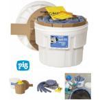 pig ピグ(R)    ピグ76Lコンテナ入りスピルキット (油、冷却水、溶剤、水用) KIT211