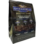 GHIRARDELLI ギラデリ ダークチョコレート 3種類(543g/51個入り)60%/72%/86% 高カカオチョコ