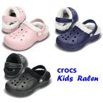 crocs  Kids  Ralen キッズ レイレン  ボア付き/サンダル/レーレン/マンモス/クロックス