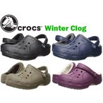 ショッピングサボ crocs winter clog クロックス ウィンター クロッグ  ボア付き/サンダル