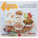 overandback【HONEYCOMB】レイジースーザン 木製ターンテーブル付き オードブルプレート 7ピースセット